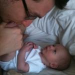 happy hypnobirthing baby Danny